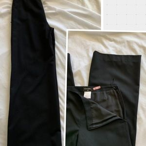 Chanel Vintage Size36 Lined Lightweight Wool Pants